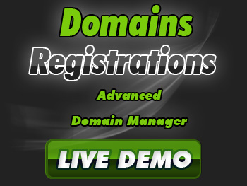 Modestly priced domain name services